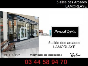 arcad-optic - opticien - Lamorlaye